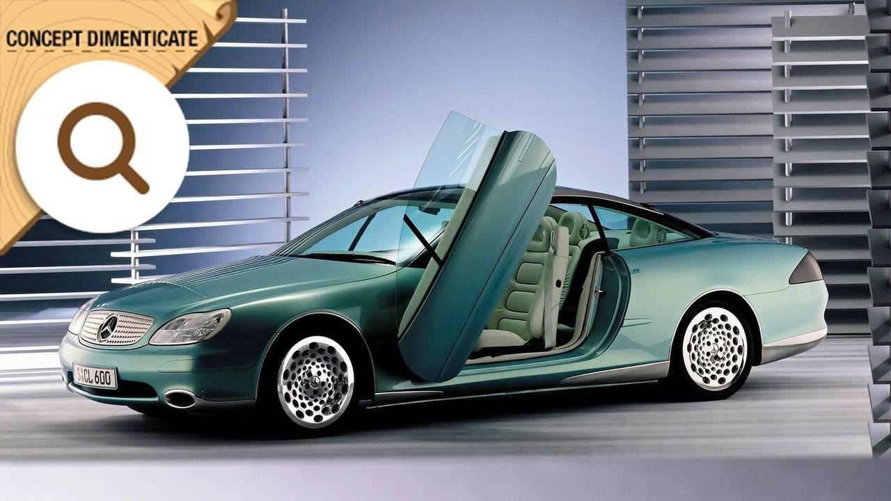 Mercedes F200 Imagination, concept dimenticate