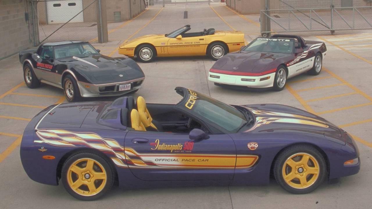 1998 Chevy Corvette Convertible Pace Car