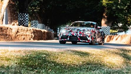 Primer vídeo en movimiento del Toyota Supra 2019