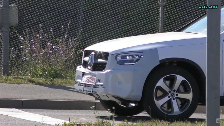 2019 Mercedes GLC Coupe Casus Videosu Ekran Görüntüleri