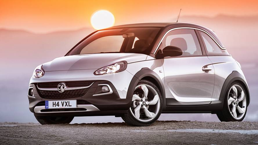 SUV-inspired Vauxhall Adam hits the rocks