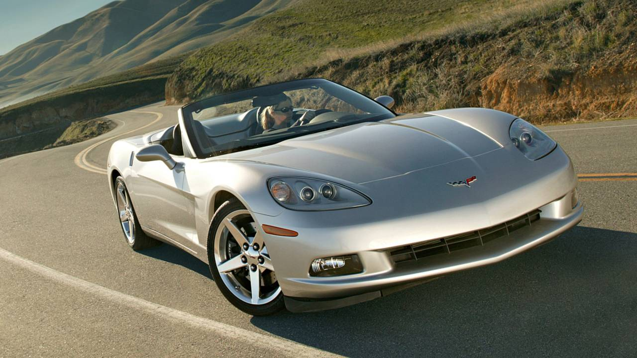 1. Chevrolet Corvette Convertible – 4,365 miles