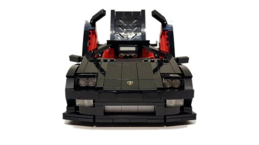 Lamborghini Diablo de Lego