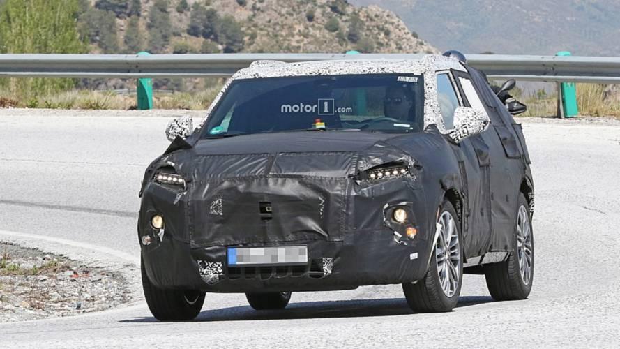 Chevrolet Blazer, üretime hazır parçaları ile görüntülendi