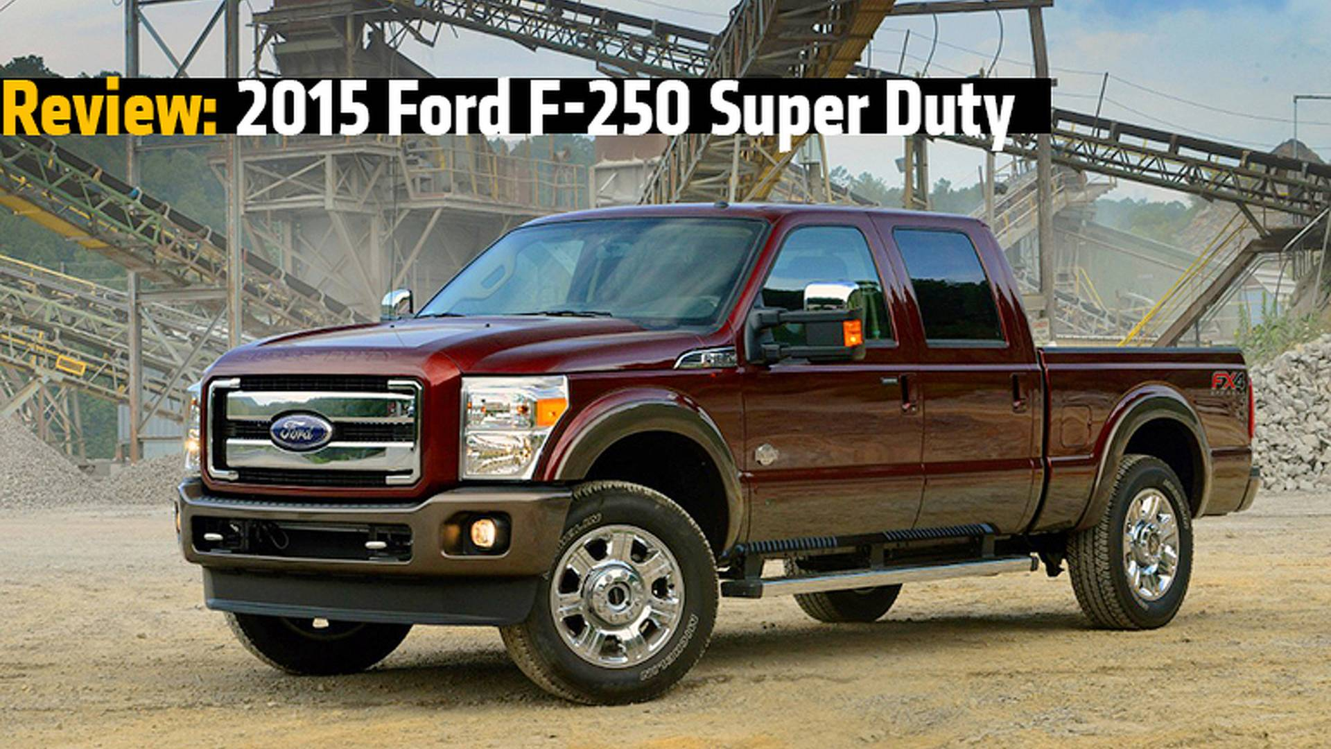 Review 2015 ford f 250 f 350 super duty trucks