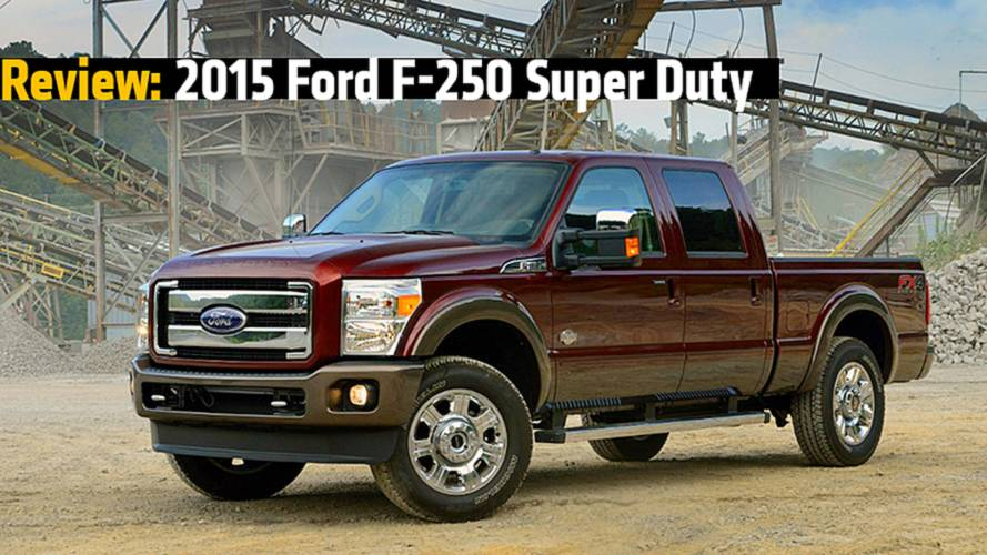 Review: 2015 Ford F-250 F-350 Super Duty Trucks