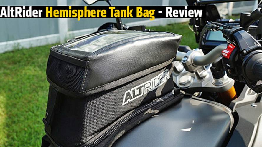 AltRider Hemisphere Tank Bag - Review