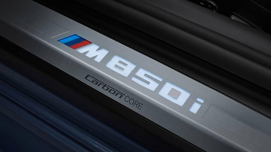 BMW dépose les noms M335, M650 et M750