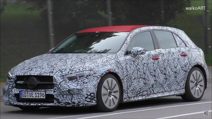 Mercedes-AMG A35 Hatchback Spied With Aggressive Rear Bumper