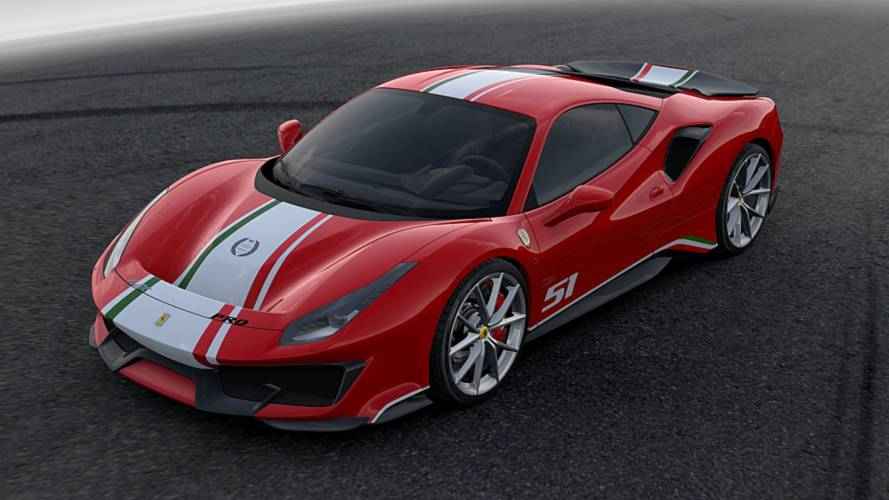 Ferrari 488 Pista Piloti Goodwood'da