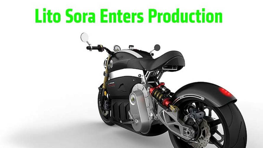 Lito Sora Electric Motorcycle Enters Production