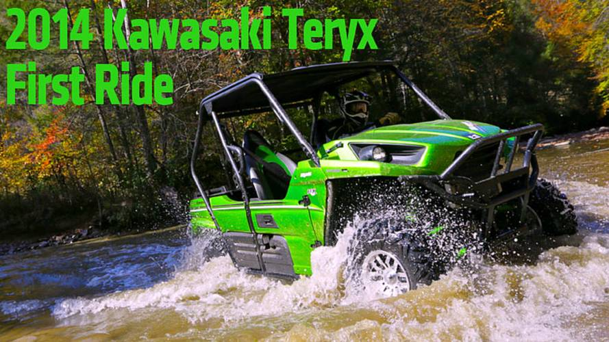 First Ride: 2014 Kawasaki Teryx 2-Seater Side-by-Side