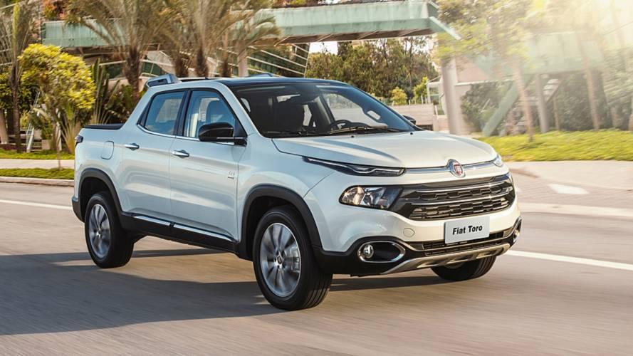 Picapes mais vendidas: Fiat Toro bate recorde de emplacamentos em julho