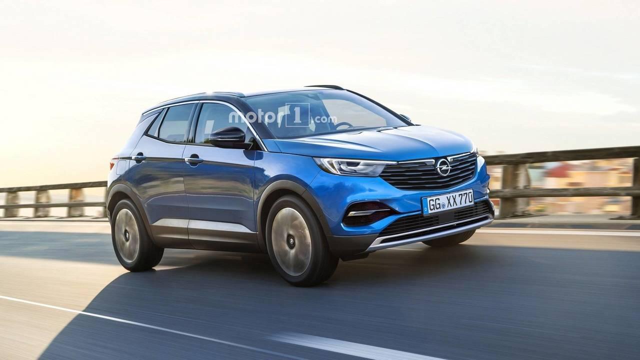 Opel Mokka X render