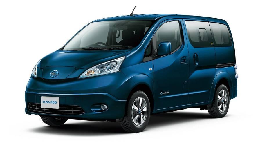 Nissan e-NV200, nuove batterie per maggiore autonomia