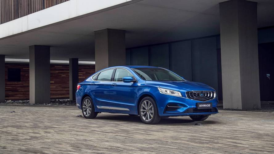 New Geely Flagship Sedan Shows Global Intent