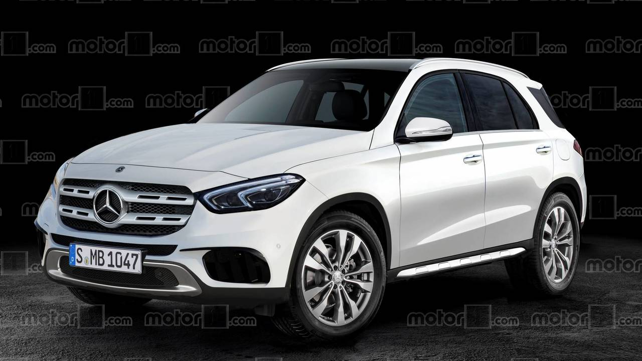 Mercedes GLE 2019 render