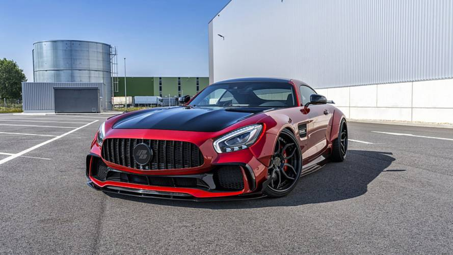 Mercedes-AMG GT S By Prior Design Looks Mean With Widebody