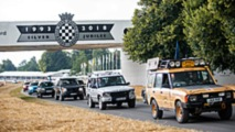 Land Rover parade