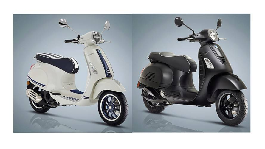 Special Edition Vespas for 50th Anniversary
