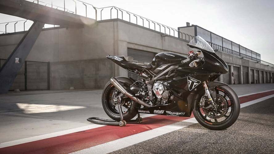 New Triumph Moto2 Engine Tested in Aragon