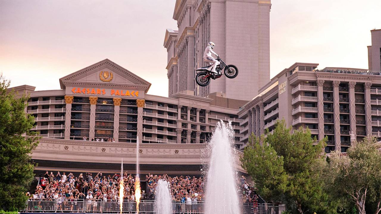 Watch Travis Pastrana Nail Evel Knievel's Jumps