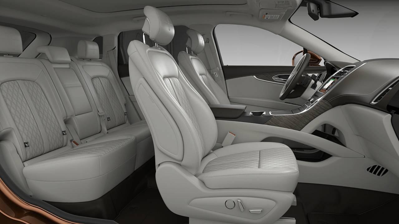 Kia Optima 2017 Interior >> Most Expensive Lincoln Nautilus Costs $71,075