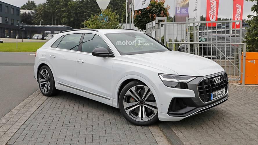 Audi SQ8 Kamuflajsız Casus Fotoğrafları