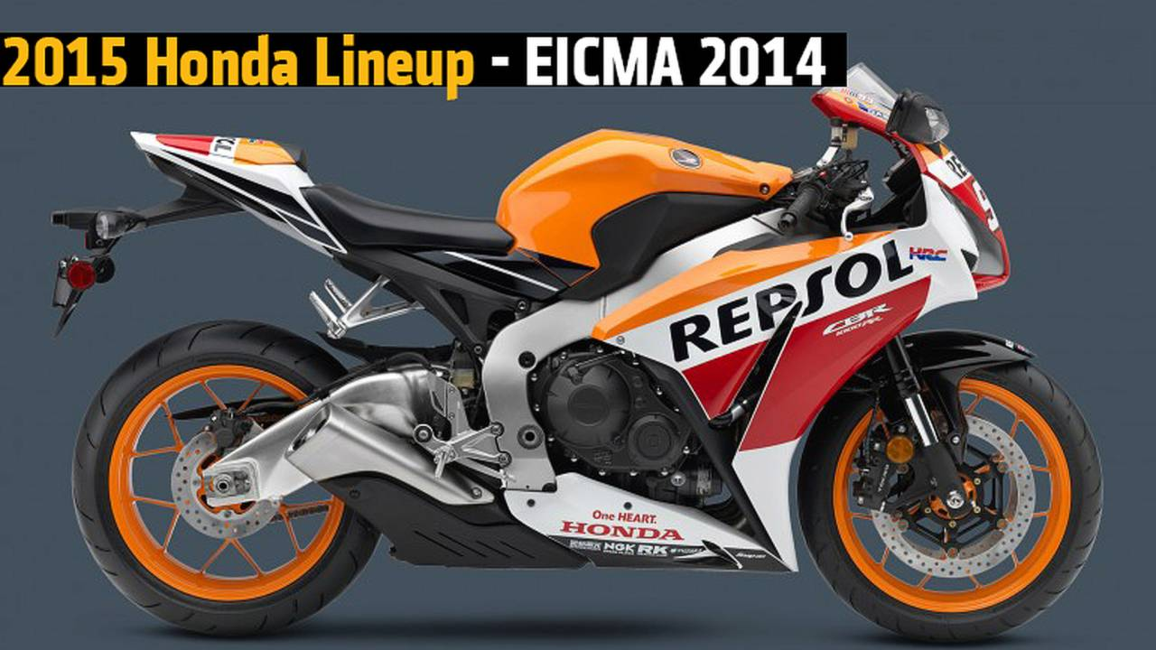 2015 Honda Motorcycles - EICMA 2014