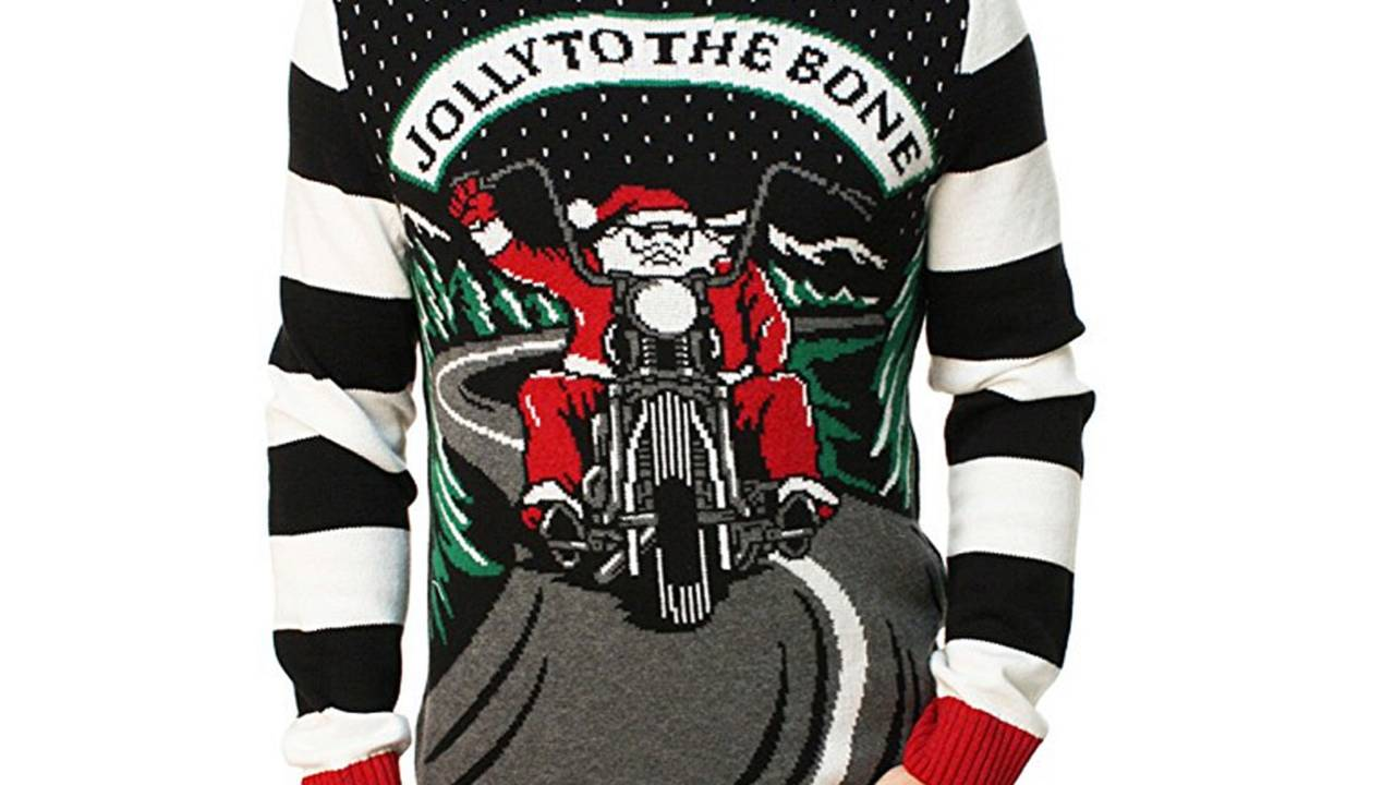<em>Jolly to the Bone Ugly Sweater at <a href=