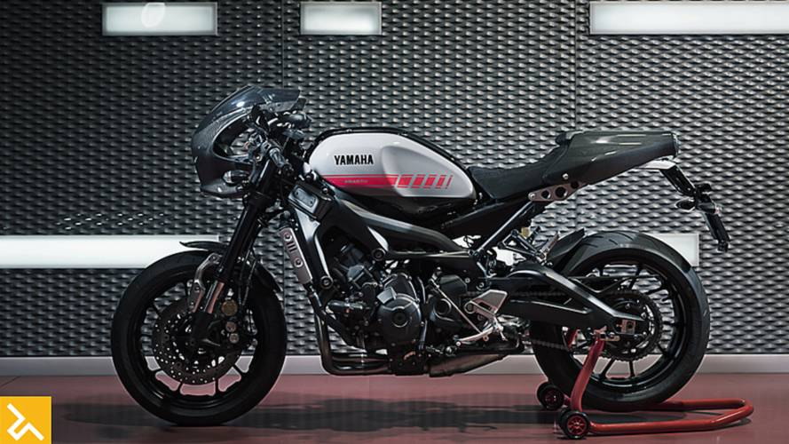 Yamaha Europe Teams Up with Abarth on XSR900 Abarth Custom