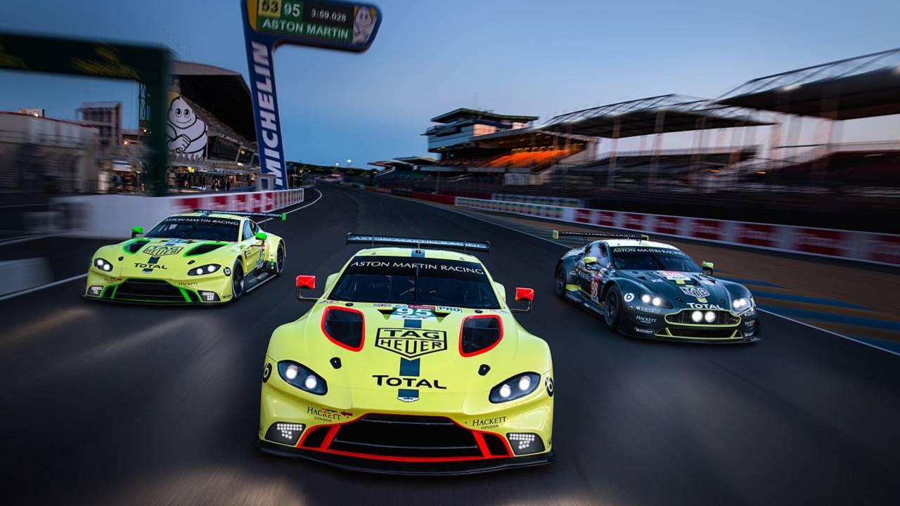 Aston Martin Vantage GTE Le Mans debut