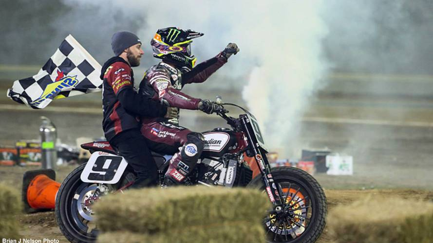 They're Back! Indian Wins Daytona Flat Track TT
