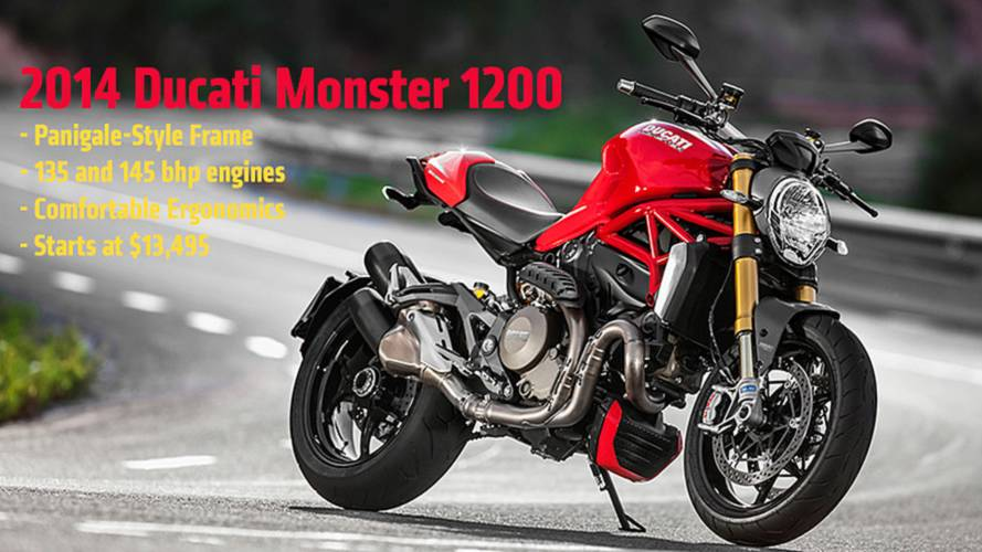 2013 EICMA: 2014 Ducati Monster 1200 — First Official Photos and Specs