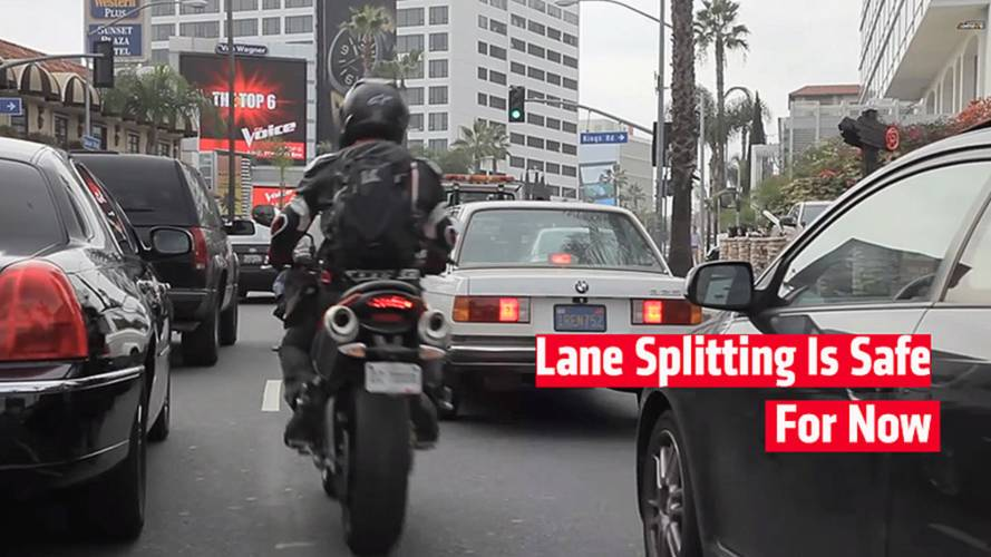 Anti-Lane Splitting Law Dies In California Senate