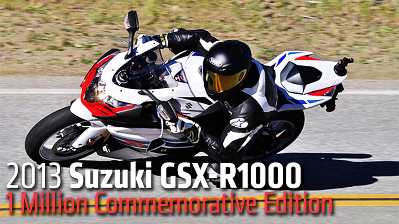 2013 Suzuki GSX-R1000 1 Million Commemorative Edition - Review