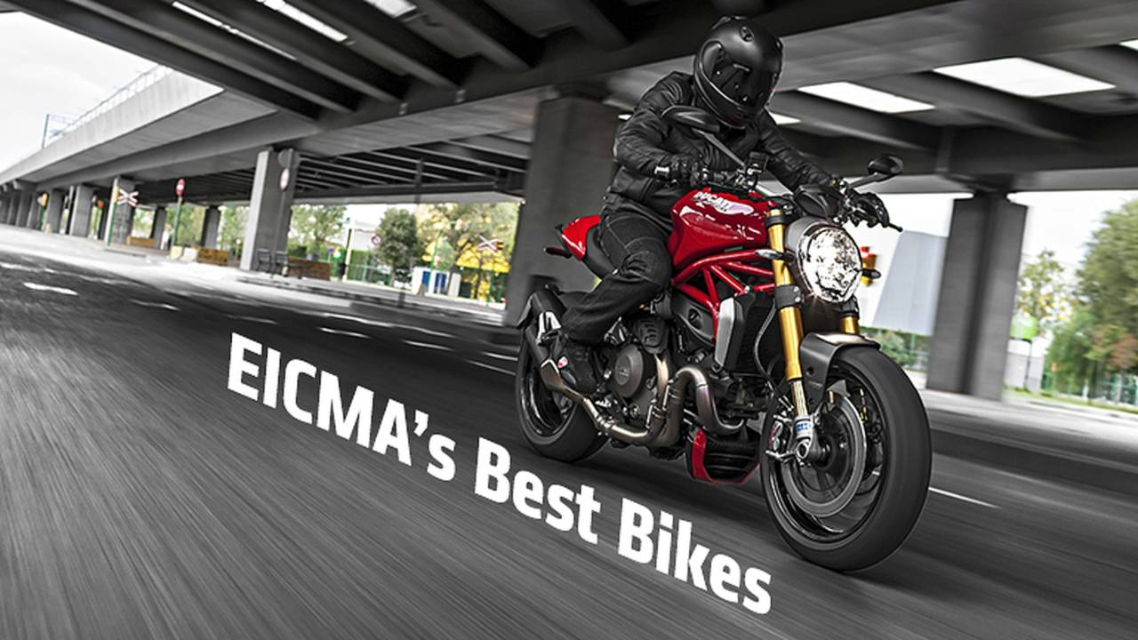Best Motorcycles of 2013 EICMA