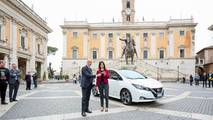 Nissan Leaf Virginia Raggi
