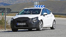 2019 Opel Astra facelift spy photo