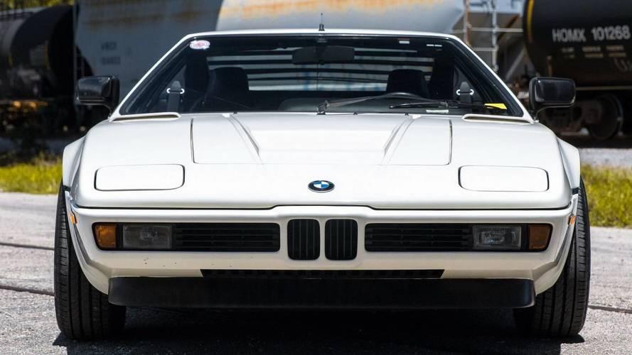 Un BMW M1 de 1981, a la venta