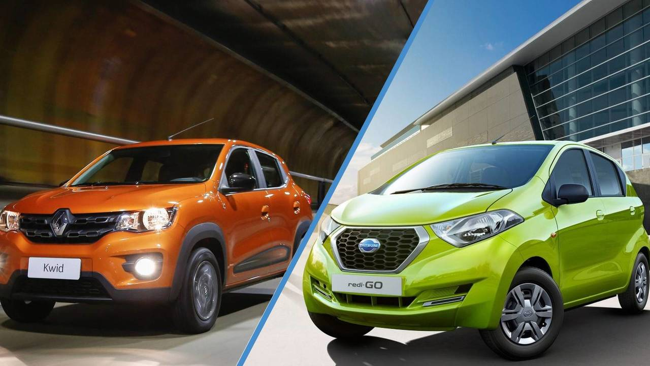 Renault Kwid & Datsun Redi-Go