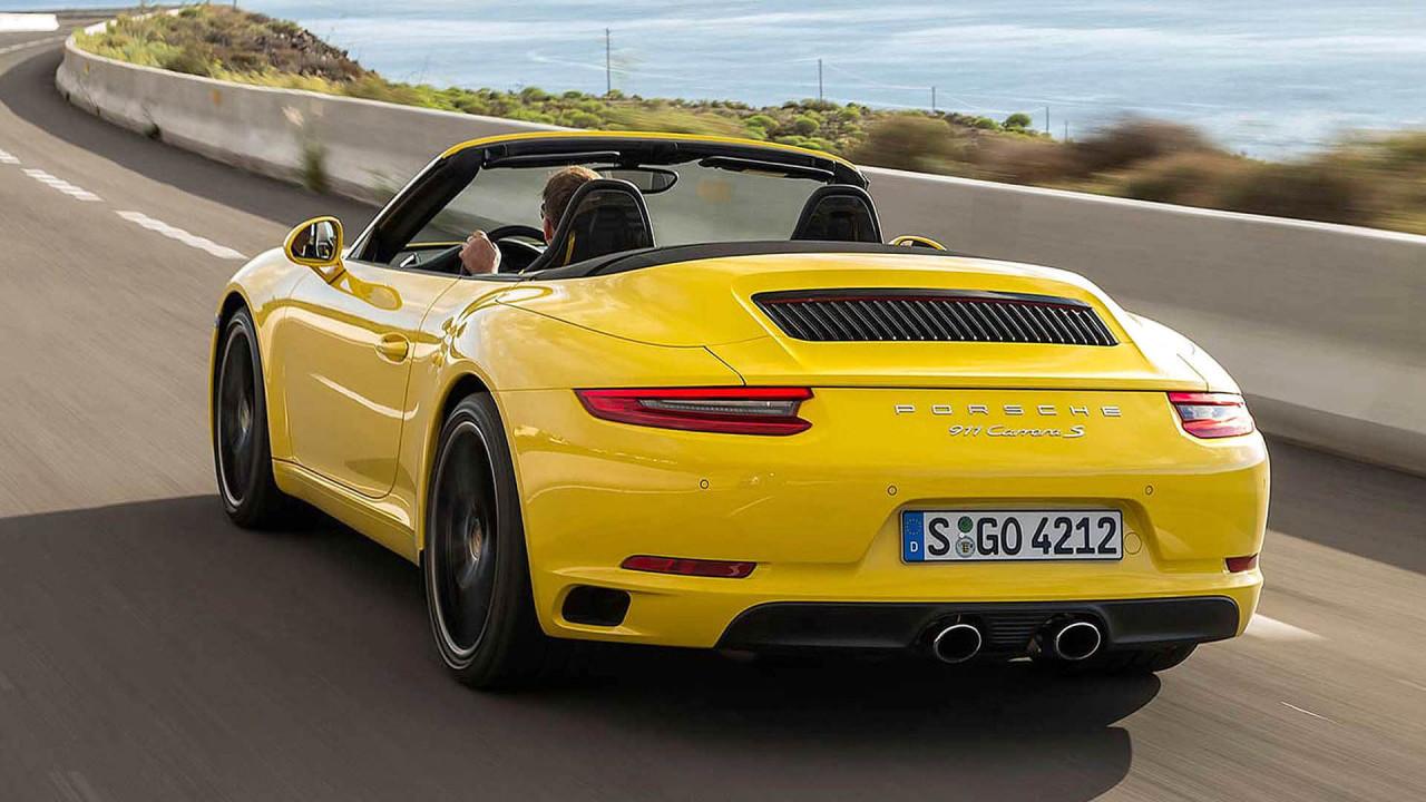 Platz 7 (geteilt): Porsche 911 Cabriolet); 13 Sekunden
