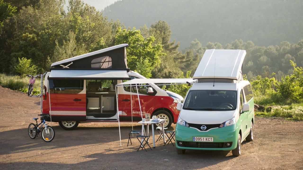 Nissan NV300 e e-NV200 Camper