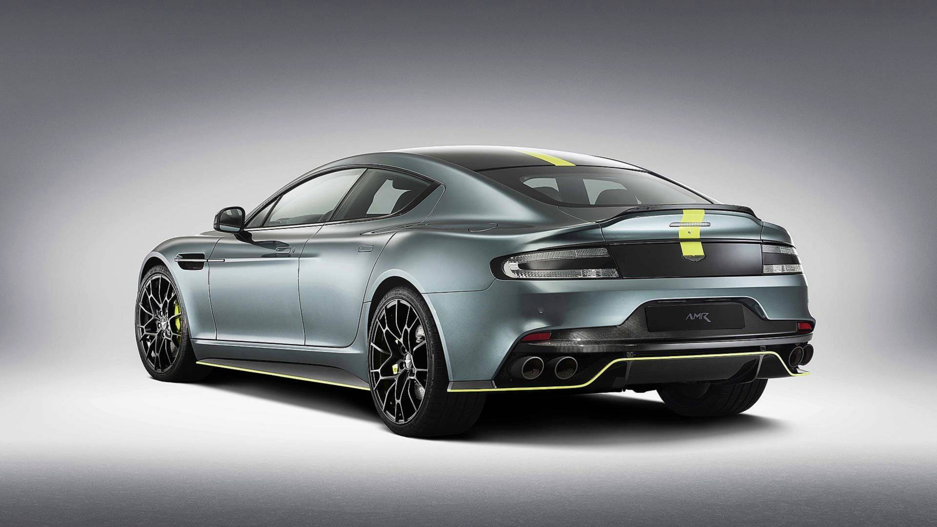 Aston Martin Rapide Lives Up To Its Name Does 173 Mph On The Autobahn