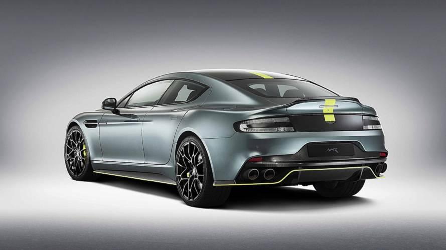 El Aston Martin Rapide AMR se deja ver, con 603 CV de potencia