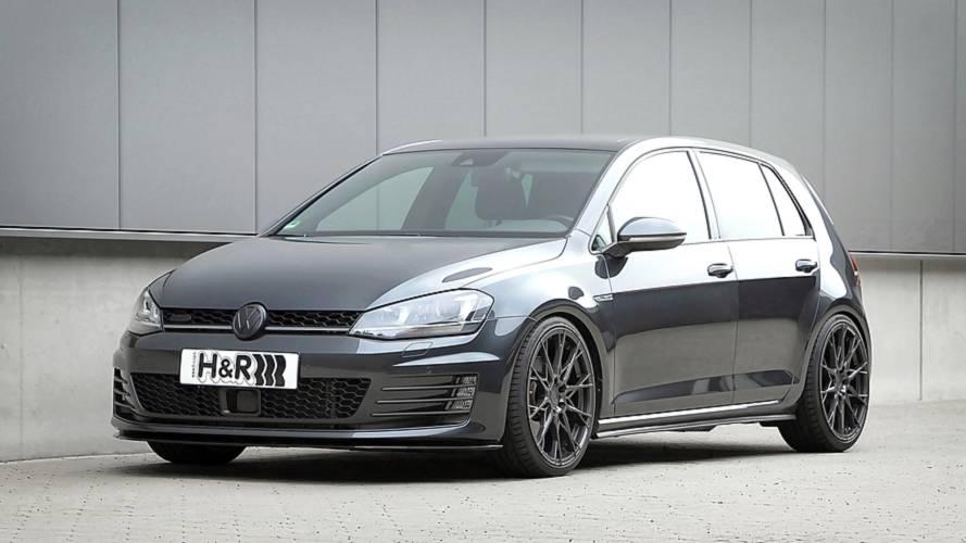 Höhenverstellbare H&R- Federsysteme für VW Golf GTI
