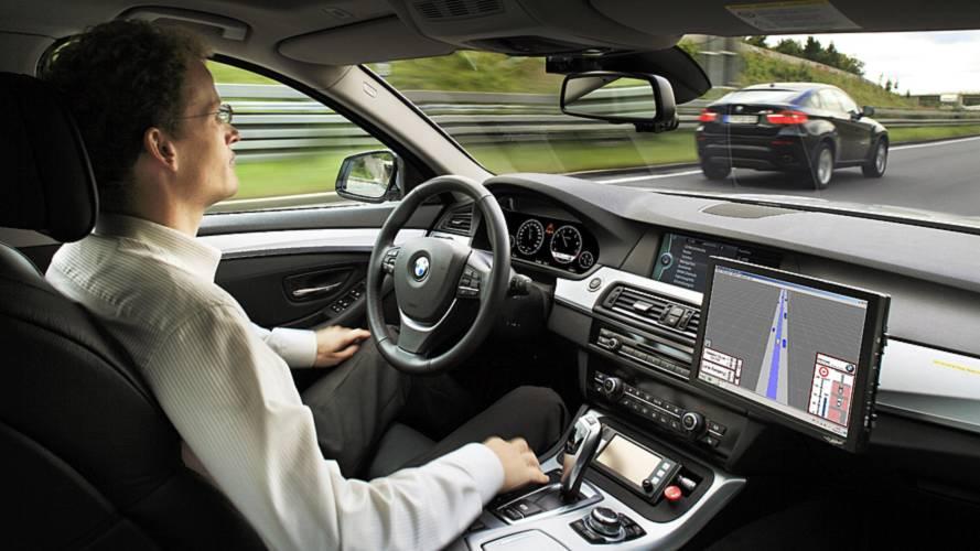 Autonomous BMW