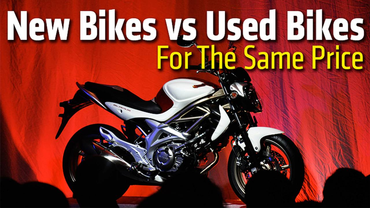 New Bikes vs. Used Bikes For The Same Price