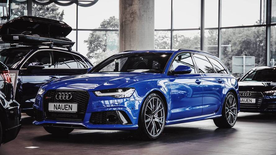 Audi RS6 Avant Performance Nogaro Edition Is The Ultimate Wagon