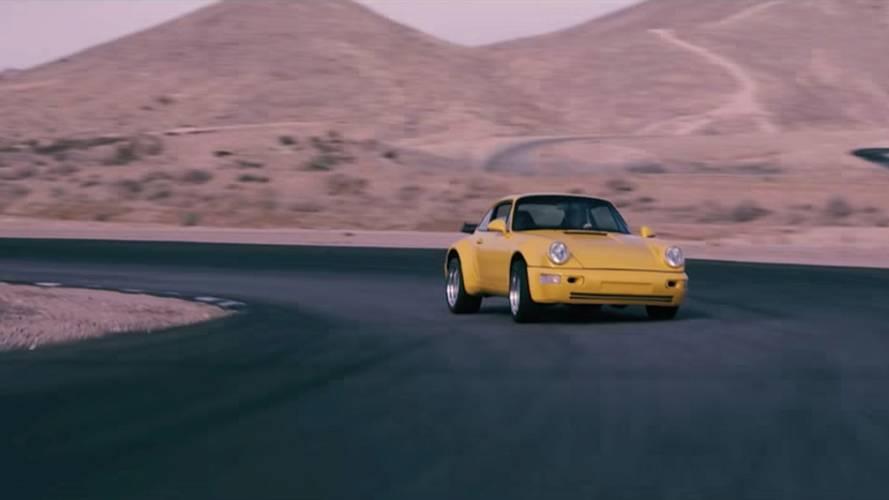 Corvette Motorlu 1975 Porsche 911